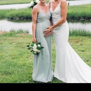 Sage Bridesmaid Dress from BHLDN